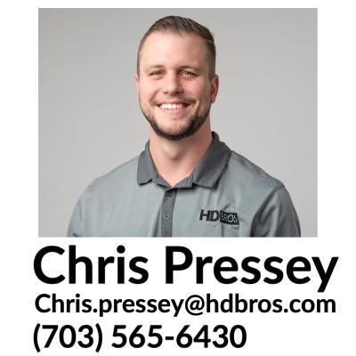 HDBROS Chris Pressey Contact Information, Raleigh NC