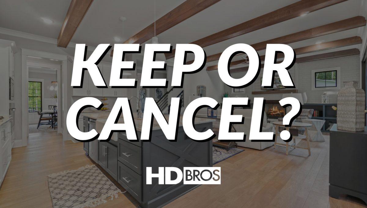 keep or cancel